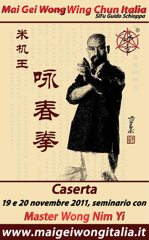 Master Wong Nim Yi Italy Seminar 2011 - Sifu Guido Schioppa School