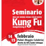 Seminario Mai Gei Wong in Calabria