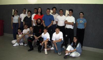 La prima sede della Scuola (Caserta, 2002)