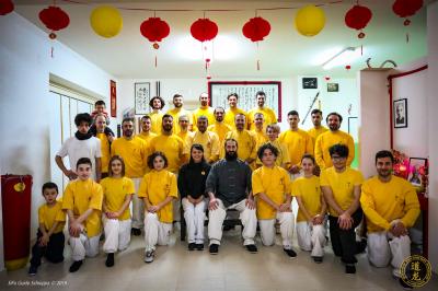 Capodanno Cinese con gli allievi (Caserta, 2019)